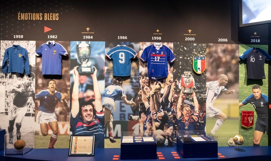 Une expo pour célébrer les 100 ans de la Fédération française de football