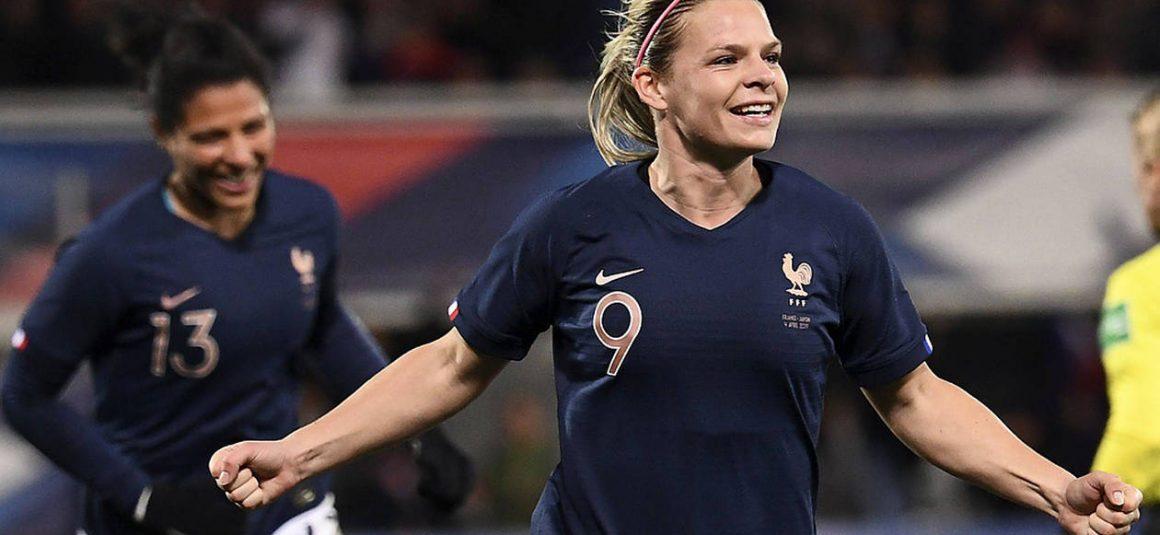 Équipe de France féminine. Eugénie Le Sommer : « On aurait pu mener plus largement »