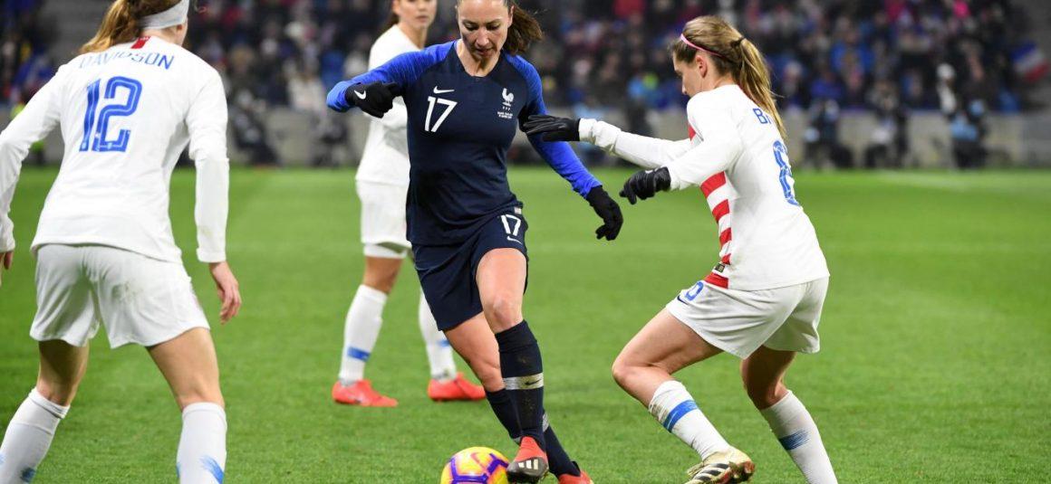 Foot – Équipe de France Kheira Hamraoui pas dans l'équipe de départ pour affronter le Japon