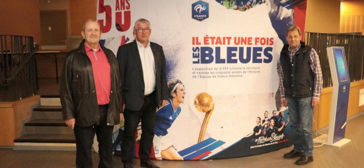 Berck accueille l'exposition sur les Bleues au Kursaal