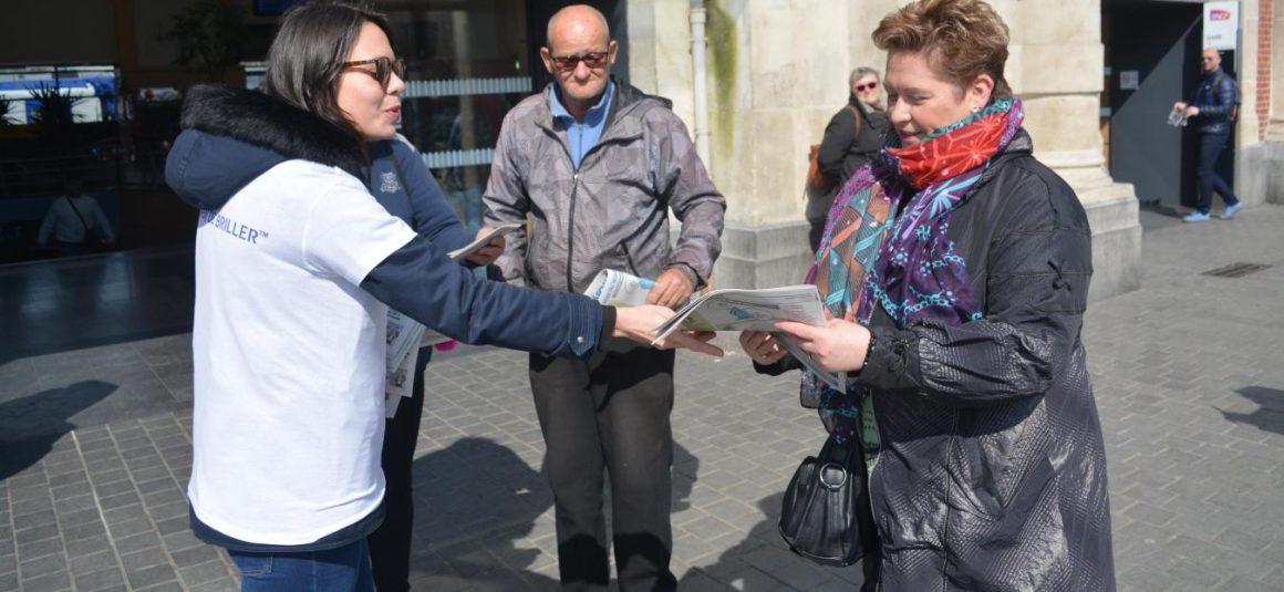 Valenciennes La Fifa offre 4 000 journaux spécial mondial aux Valenciennois