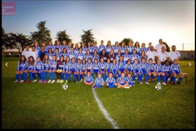 Saint-Macaire-en-Mauges. Tournoi Féminin du Football Club Andréa Macairois