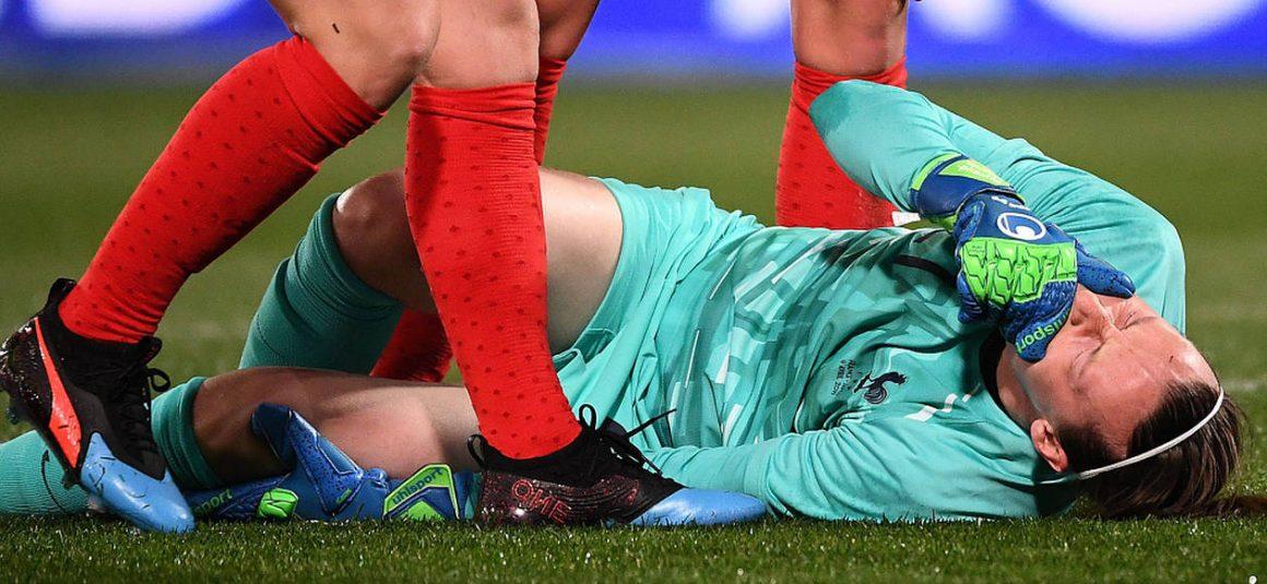 Équipe de France féminine. La gardienne Pauline Peyraud-Magnin blessée à la rotule, pour sa première sélection