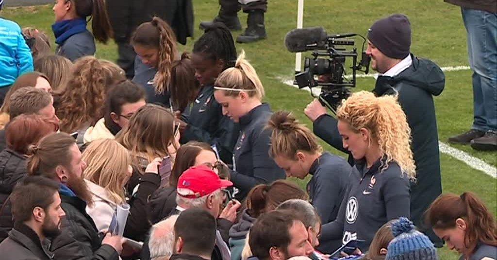 Coupe du monde de foot féminin : l'équipe de France est en Alsace pour un match de préparation contre le Danemark