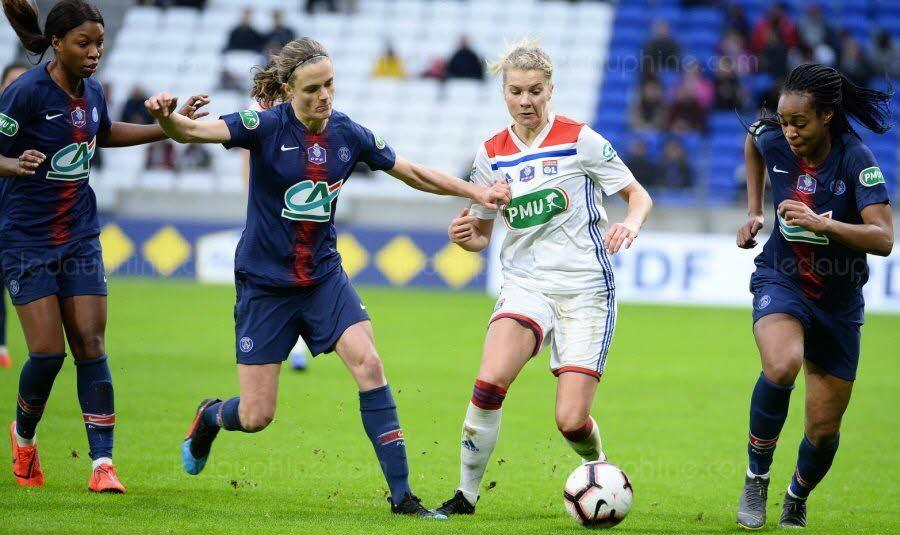 FOOTBALL D1: Lyon-PSG, «finale» de rêve pour le foot féminin français