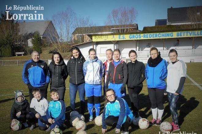 Gros-Réderching Foot féminin : le championnat pour objectif à la rentrée