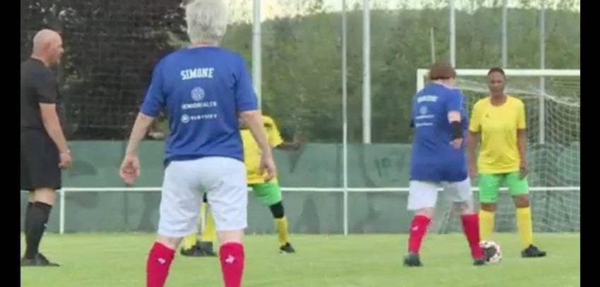 VIDEO – Les «mamies foot» chaussent les crampons à Saint-Etienne