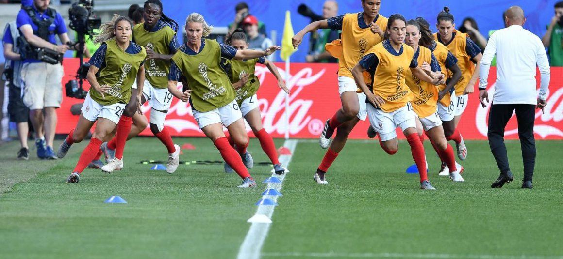 Coupe du monde féminine de football Les Bleues en mission première place face au Nigeria, suivez notre direct