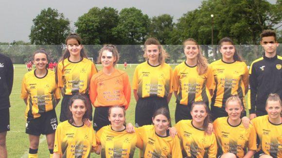 Football : les jeunes Naucelloises prennent la relève !