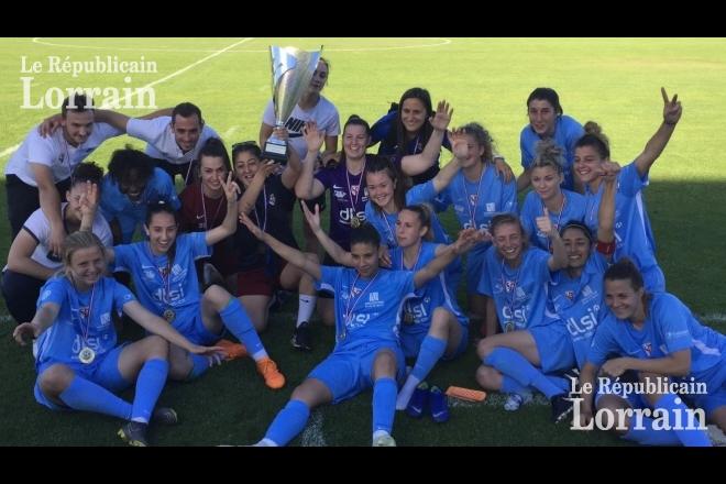 Football Coupe du Grand Est féminine : le FC Metz conclut une saison parfaite