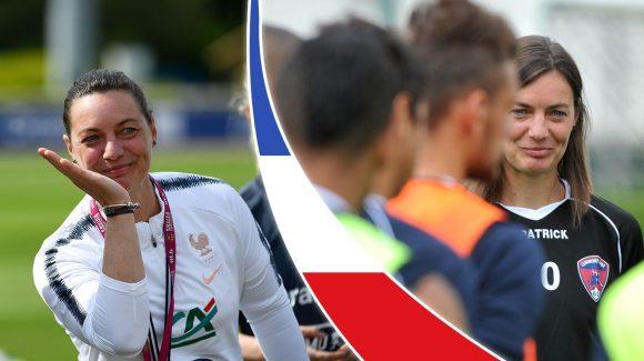 Mondial de foot féminin. De Clermont-Ferrand aux Bleues, l'ascension de Corinne Diacre, la discrète
