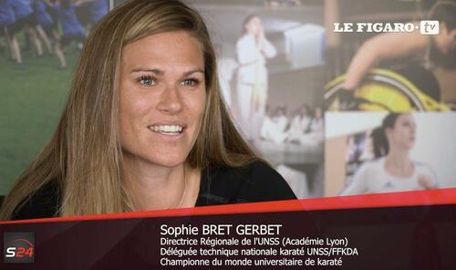 Parcours d'athlète, de prof et de maman avec Sophie Bret-Gerbet