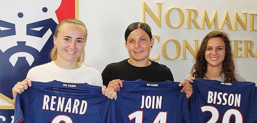 Football féminin. 3 nouvelles joueuses à Malherbe