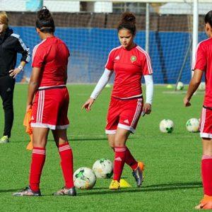 Equipe nationale féminine U20 en stage de préparation à Rabat