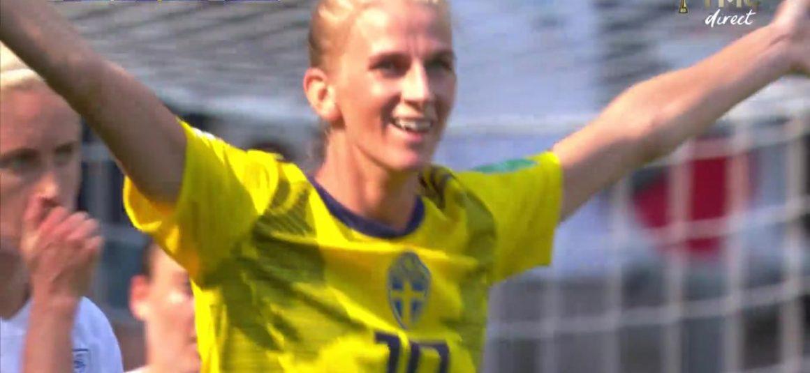 Angleterre – Suède (0 – 2) : Voir le but de Jakobsson en vidéo