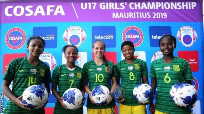 Football féminin : l'Afrique du Sud bat les Seychelles 28-0