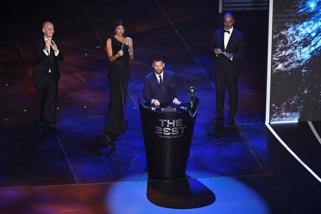 Lionel Messi et Megan Rapinoe remportent le prix FIFA The Best