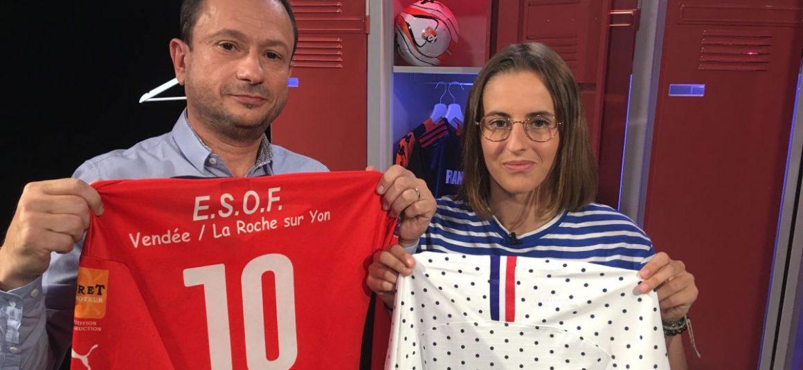"""Football féminin : Ilona Pierre-Jean joueuse à l'ESOF La-Roche-sur-Yon invitée d' """"une semaine en ballon"""""""