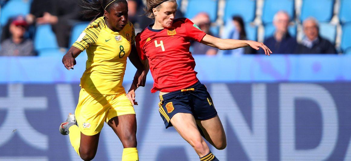 Irene Paredes avec l'Espagne