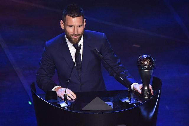 Football Lionel Messi élu joueur FIFA de l'année