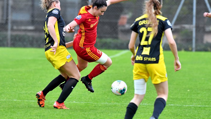 Football féminin : Rodez rentre sans points