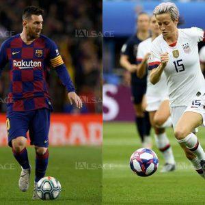 FOOTBALL Ballon d'Or : Messi et Rapinoe grands favoris