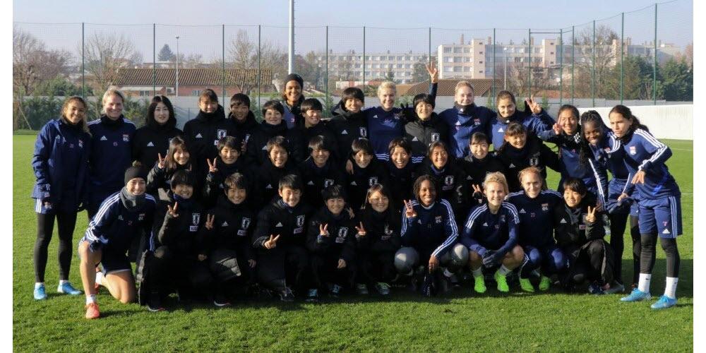 Football – D1 féminine Des invités surprises à l'entraînement des joueuses de l'OL ce vendredi matin